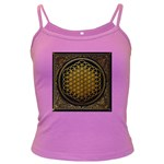 Bring Me The Horizon Cover Album Gold Dark Spaghetti Tank Front
