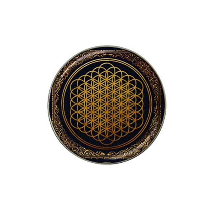 Bring Me The Horizon Cover Album Gold Hat Clip Ball Marker (4 pack)