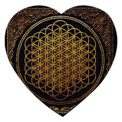 Bring Me The Horizon Cover Album Gold Jigsaw Puzzle (Heart)