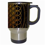 Bring Me The Horizon Cover Album Gold Travel Mugs (White) Right