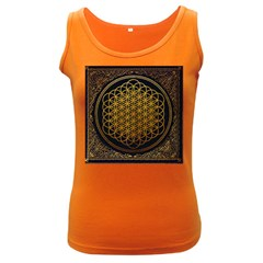 Bring Me The Horizon Cover Album Gold Women s Dark Tank Top