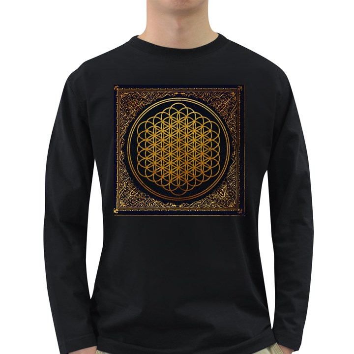 Bring Me The Horizon Cover Album Gold Long Sleeve Dark T-Shirts