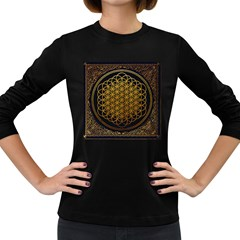 Bring Me The Horizon Cover Album Gold Women s Long Sleeve Dark T Shirts
