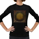 Bring Me The Horizon Cover Album Gold Women s Long Sleeve Dark T-Shirts Front