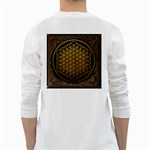 Bring Me The Horizon Cover Album Gold White Long Sleeve T-Shirts Back