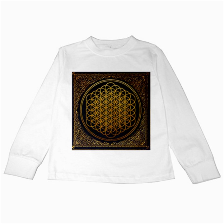 Bring Me The Horizon Cover Album Gold Kids Long Sleeve T-Shirts