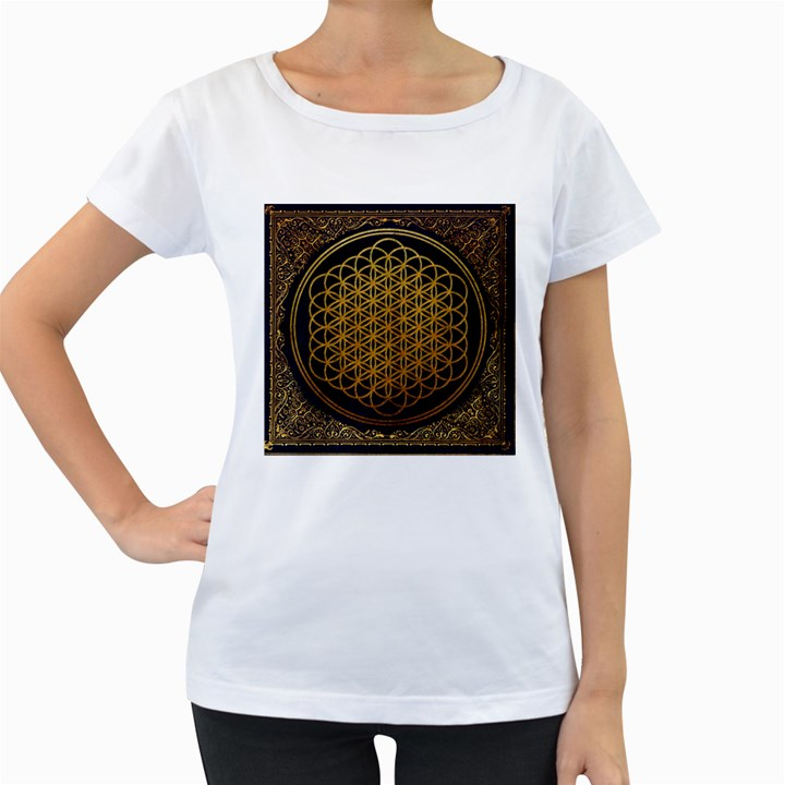 Bring Me The Horizon Cover Album Gold Women s Loose-Fit T-Shirt (White)