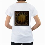 Bring Me The Horizon Cover Album Gold Women s Loose-Fit T-Shirt (White) Back