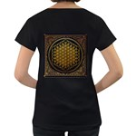 Bring Me The Horizon Cover Album Gold Women s Loose-Fit T-Shirt (Black) Back