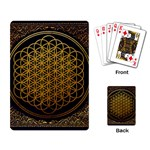 Bring Me The Horizon Cover Album Gold Playing Card Back