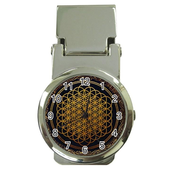 Bring Me The Horizon Cover Album Gold Money Clip Watches