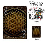 Bring Me The Horizon Cover Album Gold Playing Cards 54 Designs  Front - Spade4