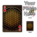 Bring Me The Horizon Cover Album Gold Playing Cards 54 Designs  Front - Heart9