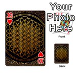 Bring Me The Horizon Cover Album Gold Playing Cards 54 Designs  Front - Heart10