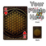 Bring Me The Horizon Cover Album Gold Playing Cards 54 Designs  Front - HeartK