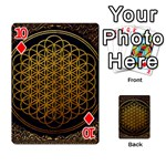 Bring Me The Horizon Cover Album Gold Playing Cards 54 Designs  Front - Diamond10