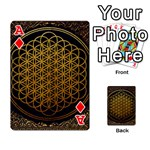 Bring Me The Horizon Cover Album Gold Playing Cards 54 Designs  Front - DiamondA