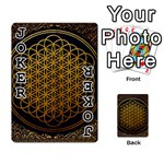 Bring Me The Horizon Cover Album Gold Playing Cards 54 Designs  Front - Joker1