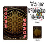 Bring Me The Horizon Cover Album Gold Playing Cards 54 Designs  Front - Joker2