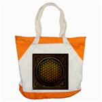 Bring Me The Horizon Cover Album Gold Accent Tote Bag Front