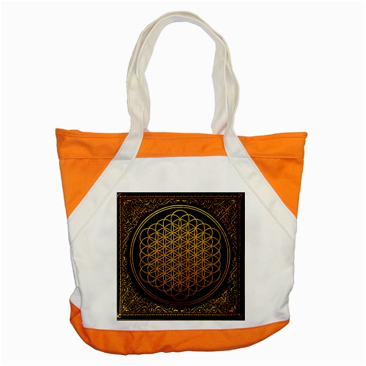 Bring Me The Horizon Cover Album Gold Accent Tote Bag
