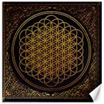 Bring Me The Horizon Cover Album Gold Canvas 12  x 12   12 x12 Canvas - 1