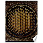 Bring Me The Horizon Cover Album Gold Canvas 12  x 16   16 x12 Canvas - 1