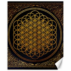 Bring Me The Horizon Cover Album Gold Canvas 16  X 20