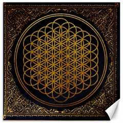 Bring Me The Horizon Cover Album Gold Canvas 20  X 20