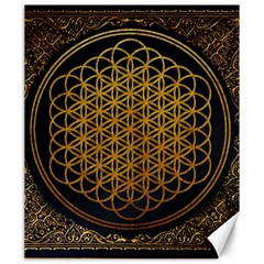 Bring Me The Horizon Cover Album Gold Canvas 20  X 24