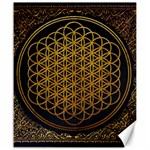 Bring Me The Horizon Cover Album Gold Canvas 20  x 24   24 x20 Canvas - 1