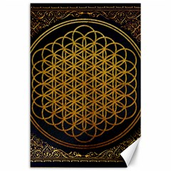 Bring Me The Horizon Cover Album Gold Canvas 24  X 36