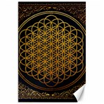Bring Me The Horizon Cover Album Gold Canvas 24  x 36  36 x24 Canvas - 1