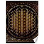 Bring Me The Horizon Cover Album Gold Canvas 36  x 48   48 x36 Canvas - 1
