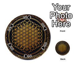 Bring Me The Horizon Cover Album Gold Playing Cards 54 (Round)