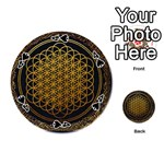 Bring Me The Horizon Cover Album Gold Playing Cards 54 (Round)  Front - Spade4