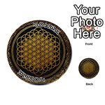 Bring Me The Horizon Cover Album Gold Playing Cards 54 (Round)  Front - Joker1