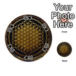 Bring Me The Horizon Cover Album Gold Playing Cards 54 (Round)  Front - Spade10