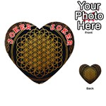 Bring Me The Horizon Cover Album Gold Playing Cards 54 (Heart)  Front - Joker2