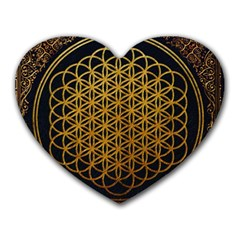 Bring Me The Horizon Cover Album Gold Heart Mousepads