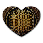 Bring Me The Horizon Cover Album Gold Heart Mousepads Front