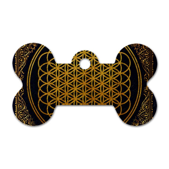 Bring Me The Horizon Cover Album Gold Dog Tag Bone (One Side)
