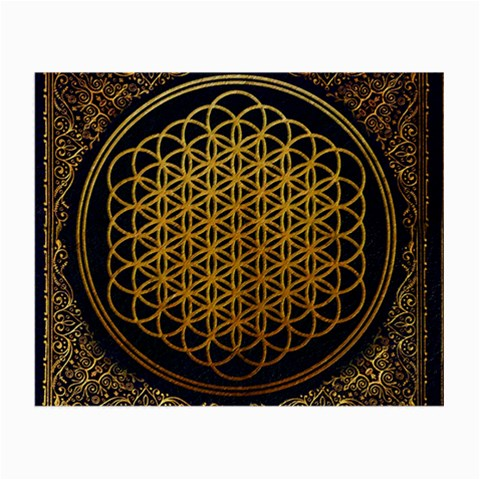 Bring Me The Horizon Cover Album Gold Small Glasses Cloth (2-Side)
