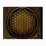 Bring Me The Horizon Cover Album Gold Small Glasses Cloth (2-Side) Back