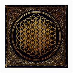Bring Me The Horizon Cover Album Gold Medium Glasses Cloth