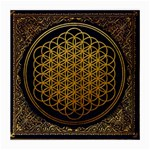 Bring Me The Horizon Cover Album Gold Medium Glasses Cloth Front
