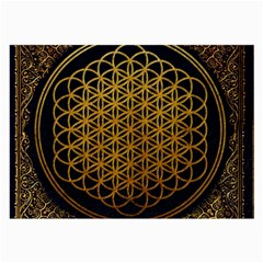 Bring Me The Horizon Cover Album Gold Large Glasses Cloth (2-Side)