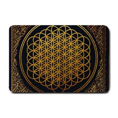 Bring Me The Horizon Cover Album Gold Small Doormat