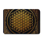 Bring Me The Horizon Cover Album Gold Small Doormat  24 x16 Door Mat - 1