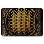 Bring Me The Horizon Cover Album Gold Large Doormat  30 x20 Door Mat - 1